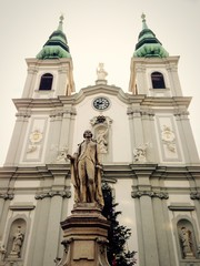 historical church in vienna