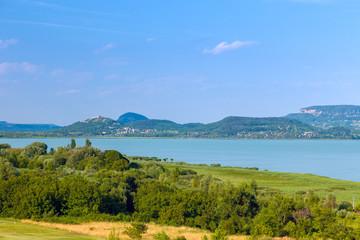Landscape at Lake Balaton, Hungary