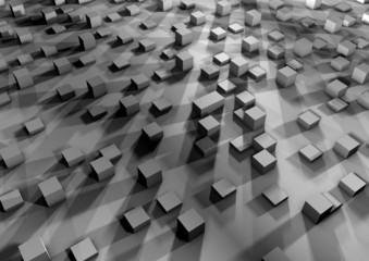 Zentralperspektive - Quadermapping - Ansicht 5-04