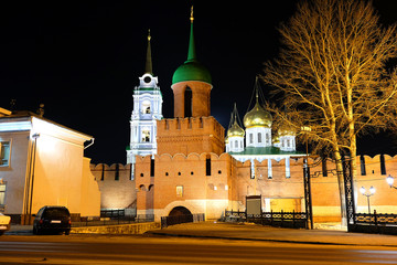 The main tower and the entrance to the Kremlin. Tula