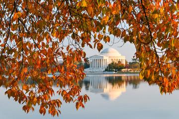 Washington DC - Thomas Jefferson Memorial in Autumn