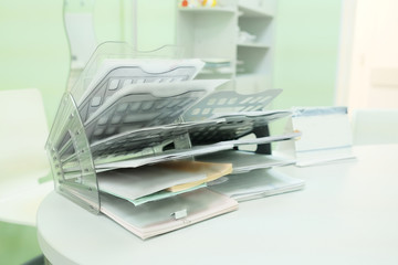 Office organizer for the documents