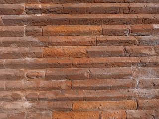 Red bricks background