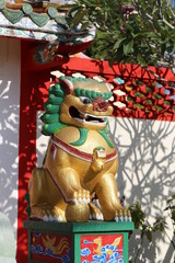 Statue of Chinese dragons