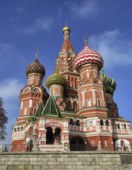 Russia, Moscow, St. Basil Cathedral