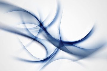 Abstract Blue Waves For Your Design