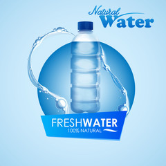 natural water bottle