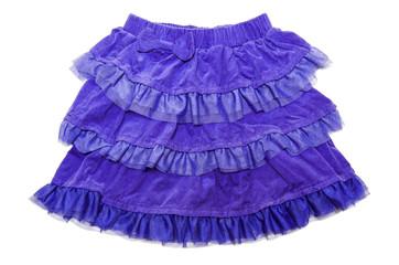 blue skirt for girl