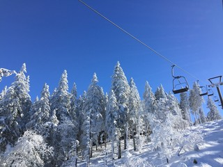 chair lift in black forest