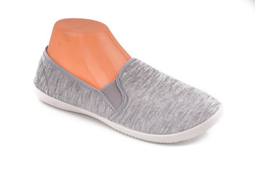 an image of cheap grey sport shoes