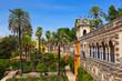 Real Alcazar Gardens in Seville Spain - 78728306