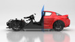 Auto slice, piano sezionale, meccanica interna, checkup - 78728768