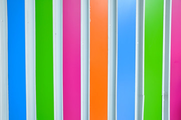 Colorful plastic lining for party background.