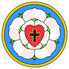 Lutheran Rose Emblem (Luther Seal)