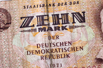 Zehn DDR-Mark
