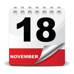 18 NOVEMBER ICON