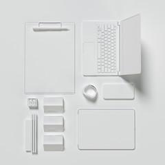 Mockup business template.