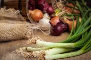 Organic fresh ingredients