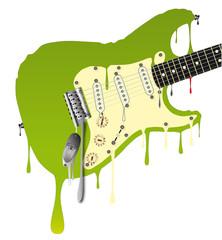 Melting Guitar