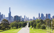 canvas print picture - Melbourne in the daytime