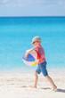 kid at the beach
