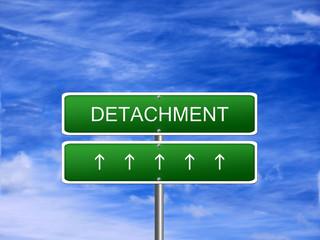 Detachment Emotion Feeling Concept