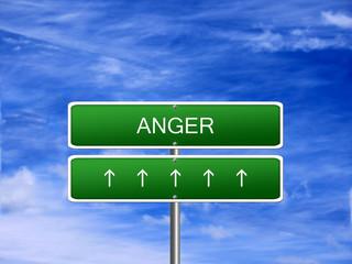 Anger Emotion Feeling Concept