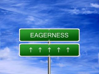Eagerness Emotion Feeling Concept