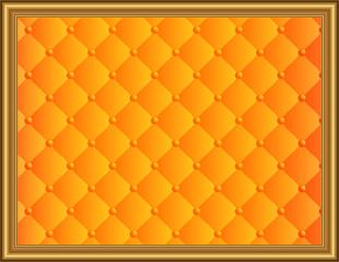 キルティングオレンジ3