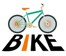 bike silhouette