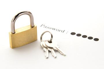 パスワードの保護イメージ