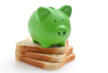 Toast Sparschwein