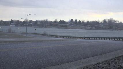 Hail on Barren Roads