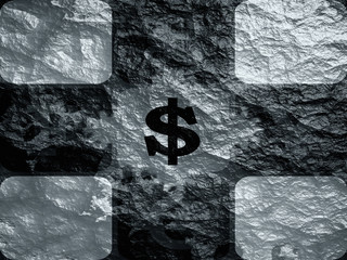 currency exchange abstract background