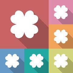 Four leaf clover icon.