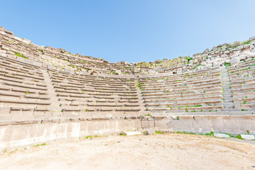 Western Theater of Umm Qais in northern Jordan
