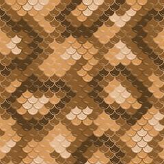 Seamless lizard skin pattern