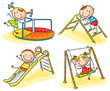 Kids on playground - 78737501