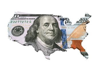 US Dollar Map