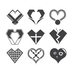 heart love sign valentine icon
