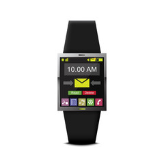 communication with smart watch wearable technology