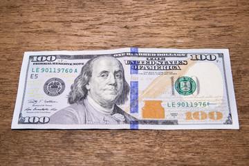Dollars bank note
