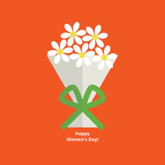 Women's day greeting card