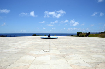 THE CORNER STONE OF PEACE (Peace Memorial Park Okinawa)