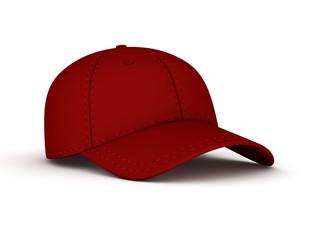 3d rendered cap.