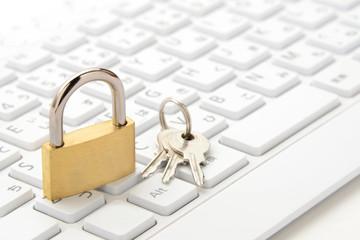 パソコンのセキュリティー保護イメージ