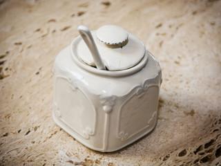 Beautiful ceramic sugar bowl