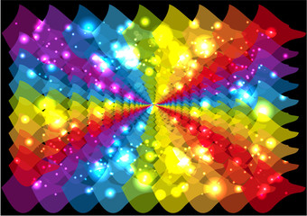Colorful backgrounds abstract vector