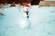Leinwandbild Motiv Snowman.