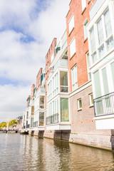 Modern buildings in Alkmaar, The Netherlands